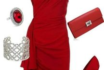 PERFECT RED DRESS