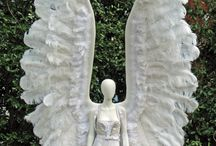 Mannequins as Angels / Various ways people create angels using mannequins or dress form which you can purchase at MannequinMadness.com  / by Mannequin Madness