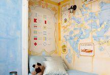 P's bedroom