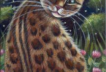 Cat Art / by Debra Richter-Silnicki