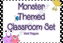 Monster Classroom Theme / by Caren Thompson