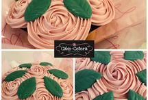 Glasgow Cupcakes / Our selection of cakes available for delivery instead of flowers in Glasgow