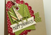 Cards: Christmas / All things DIY Christmas Cards / by Tina Platter