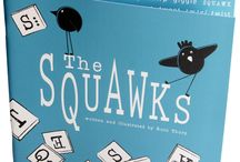 The Squawks by Ruth Thorp / Meet the Squawks – an irresistible community of quirky birds!   Written in a tongue-twisting rhyme, each page is sure to raise a smile from readers of all ages.  'The Squawks is a joyful picture book; gorgeous to look at and pure fun to read.' My Book Corner   Published by Raw Mixture Publishing in 2014, this is the first book written and illustrated by Ruth Thorp.
