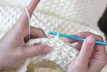 Knitting, crochet, embroidery, sewing