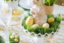 Easter Table / Table Setting For Easter