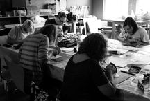 Linocutting Workshop: 3rd September 2016 / For more information regarding our workshops, please visit our website: www.prettyshinyshop.com