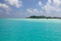 Maldives : l'île de Diffushi / En 2013, j'ai séjourné quelques jours dans le village de Diffushi aux Maldives.