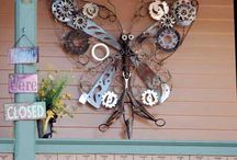 Funky Junk / Creative art and crafts / by Gail O'Neil