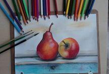 Akvarell ceruza tanfolyam