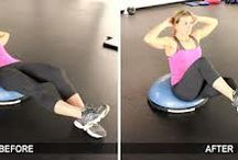 Bosu #BOSU Propelled Workouts / Whether you're at home or at your gym, this board is all about providing you with exciting and new ways to use the Bosu Balance Trainer.