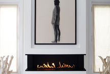 interiors / fireplaces / by malena