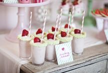 Strawberries and cream ideas / Great Strawberry ideas #DIY #Design / by Sharon Maher / Norah Sleep