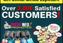 Social Media Promoter / Improve your social Traffic likes, followers, affordable price form socialwebpromoter and be active online business competition..