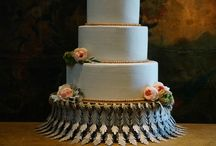 Cake Stands for Rent / We offer these cake plateaus for rent to brides in the DFW area.