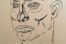 Barbara V Maier - Drawings