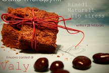 Cake Therapy and Comfort Food / Rimedi naturali allo stress... How to manage the daily stress by cooking cakes.