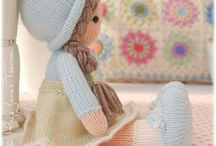knitting dolls patternsknitted toys
