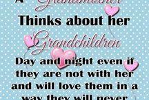 Grandchildren are blessings / by Brenda Hallam
