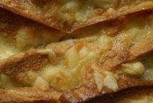 recipes - comforting carbs / bread, pasta, potatoes, rice....