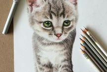słodkie zwierzaki-rysunki