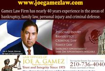 Famous Lawyer - Trusted Divorce Attorney - Child Support Attorney / The experienced & trusted legal pros in San Antonio, work aggressively in the areas of bankruptcy, family law, personal injury and criminal defense. We will help you finding your way out of financial despair, and work to prevent foreclosure. Regardless of your legal needs during divorce, child support or other family issues, we're available 24 hours with emergency appointment at 210-736-4040.