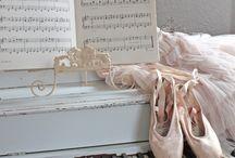 балет, пианино