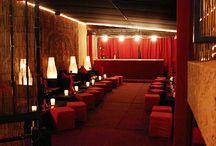 red design lounge