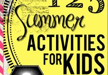 Kid Activities / by Rebecca Ripley