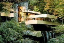 Architect~Frank Lloyd Wright / Frank Lloyd Wright, American Architectural Inspiration.