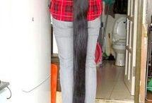 Indian beautiful very long hair love