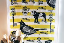 Kitchen textiles / Anyone who knows me knows I love kitchen textiles :)