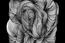 visual inspiration / modern and contemporary art / illustration / design / pattern / print / geometric