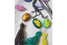My Craft / craft i made : clay, jewelry, binding book
