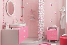 peque baños lindos