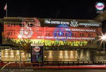 Botschaft der USA @ FESTIVAL OF LIGHTS 2015