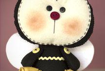 Bonecas abelhas