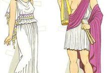 abbigliamento popoli antichi