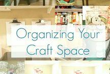 Pracovní kout - Craft space
