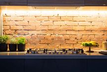 Inspiration: Exposed+Painted Brick