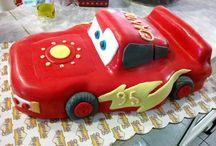 Cars cake ideas by Tzoukas Zaxaroplasteio