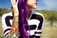 Purple hair / by Danielle Collis