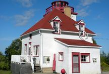 Lighthouses of the Bruce Peninsula / The areas surrounding Tobermory ONtario offer many historical lighthouses. Some of which can be visited as tourist attractions.
