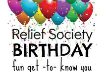 Relief Society Idea's / Relief Society Idea's
