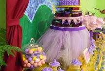 Rapunzel, tangled birthday party