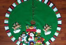 Pie de Árbol Navidad