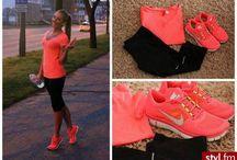 Workout attire  / by Jessilyn Hepler