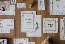 [WEDDING] Papeterie de mariage / Vous êtes fiancé(e) et recherchez LA papeterie de mariage qui aidera vos invités à se projeter dans votre mariage ? Voici des idées de papeterie ! #papeterie #mariage #stationnery #faire-part