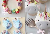Fondant Cakes I Love