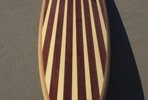 Hollow Wooden Surfboards / Each board is a one-of-a-kind, lightweight, surfable work of art. They are hollow, wooden and crafted by hand in Santa Cruz, California using mostly recycled, salvaged or reclaimed materials by master craftsman Martijn Stiphout.